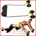 New Sport Core Double AB Power Muscle Exercise Home Gym Equipment Dual Energy Equipment Abdominal Wheel Ab Roller Gymnasium Trai
