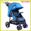 Fast dobrável e alça ajustável Carrinho de criança Deluxe de luxo NOVO Design EN e ASTM aprovado