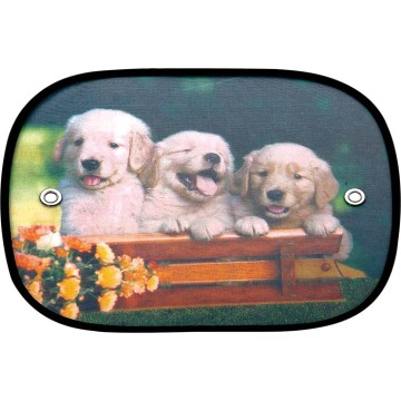 Good Quality for Windshield Shade CARTOON Pattern nylon polyester side sunshades supply to Thailand Supplier