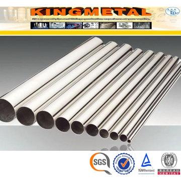 Tubulação de aço inoxidável Tp317 / 317L Material sem costura ASTM A312