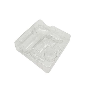 Electronic thermoformed blister tray packaging