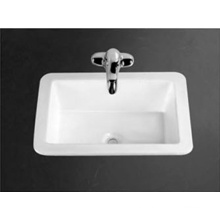 Sanitary Ware Oval Above Counter Hand Wash Basin Single Hole