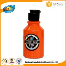 Tinta acrílica da garrafa da arte da laranja 120ml do preço competitivo
