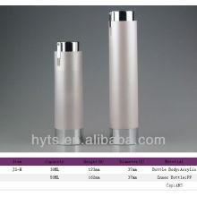 bouteille de pompe airless acrylique d'or