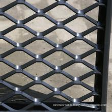 Treillis métallique déployé pour clôture grillagée