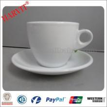 Nouveaux produits chauds pour 2015 90cc Copes de café Espresso et Macchiato italien avec tasses et soucoupes personnalisées en porcelaine