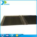 Suprimento de fábrica folha de sistema de bloqueio do marquise de policarbonato de estufa de 8mm