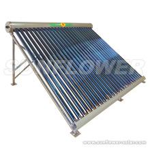 Tubo de calor de baja presión de agua caliente paneles solares Precio