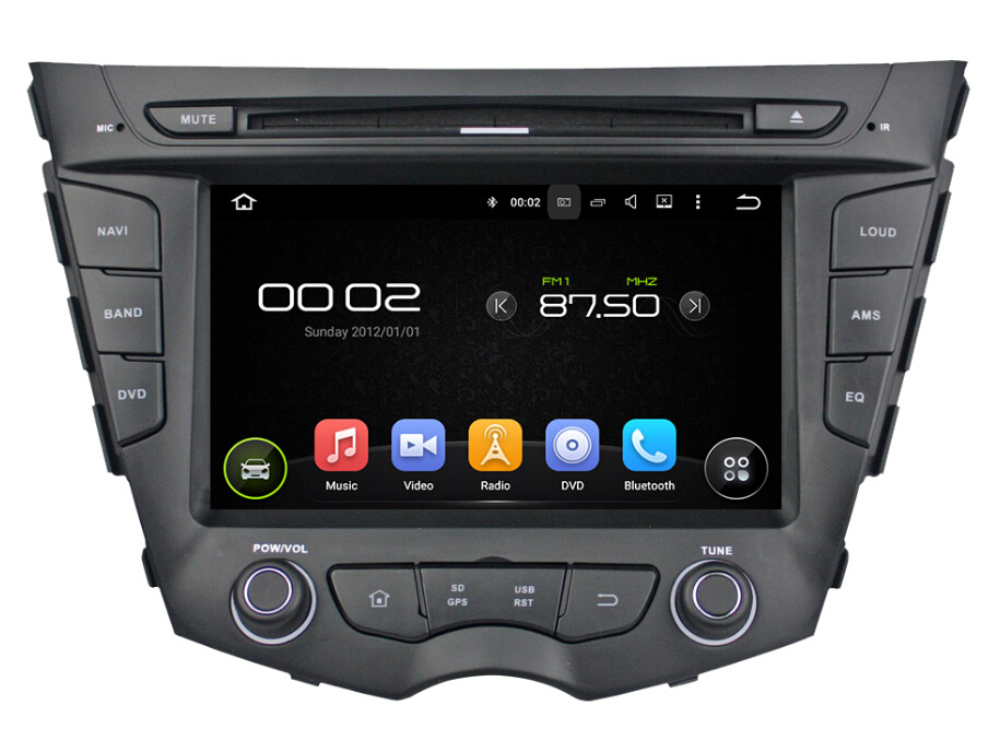 Android 7.1 Car DVD Player For Hyundai Veloster