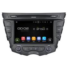 Android 7.1-DVD-spelare för Hyundai Veloster