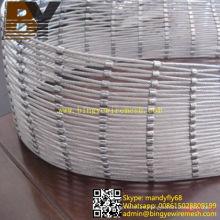 Malla flexible de la cuerda del acero inoxidable para los tipos de madera resistentes al agua