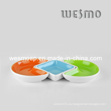 Plato de la comida Bandeja Snack (WSC0135A)