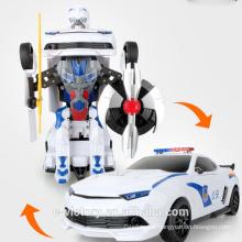 Easy control R/C Transform Car Cheap remote control car robot toy