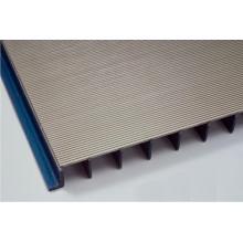 Placa de tamiz de ranura / panel envuelto alambre