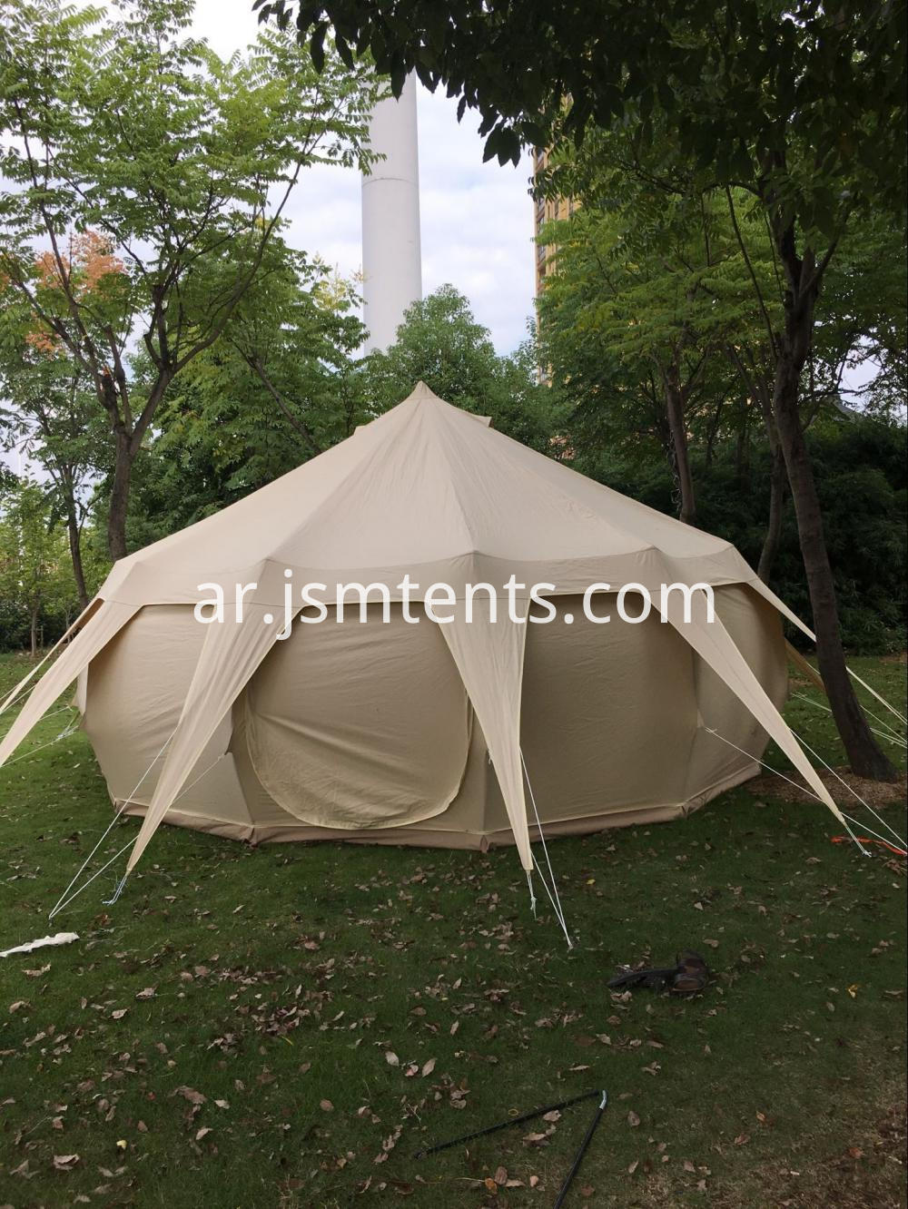 All Season Outdoor Tent Camping Lotus Bell Tent