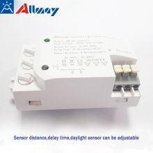 Light Time and Range Adjustable Sensor Switch
