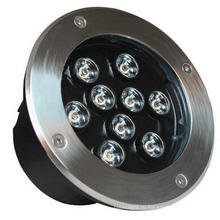 9W светодиодные напольные плавательные бассейны светодиодные фонари