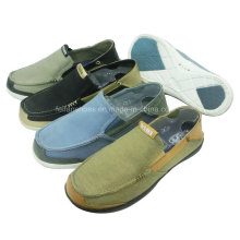 New Style Comfortable Men′s Shoes Slip-on Leisure Shoes Canvas Shoes