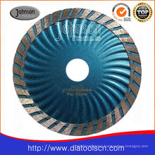 Cutting Blade: 115mm Sintered Turbo Wave Saw Blade for Granite