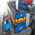 Lantai Decking Metal Profile Equipment Machine