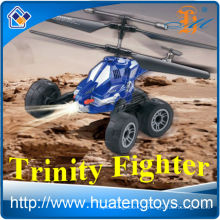 Mini haute vitesse rc voiture rc hélicoptère infrarouge projectile air-gound coasters avec gyroscope EN71 ROHS ASTM 6P