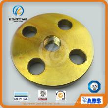 По ANSI В16.5 стали углерода Продетый нитку Выкованный Фланец фланца с TUV (KT0403)