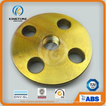 Brida forjada de brida roscada de acero al carbono ANSI B16.5 con TUV (KT0403)