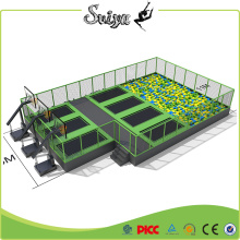 Sviya baratos de alta calidad Mejor venta superior Indoor Trampoline Park