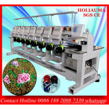 EDV-industrielle 8 Kopf Stickmaschine für Garmetn Hut Stickerei