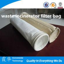 Bolsa de filtro de incinerador de residuos médicos de la industria