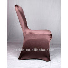 chocolate brown colour,lycra chair cover CTS700,fancy and fantastic,cheap price but high quality