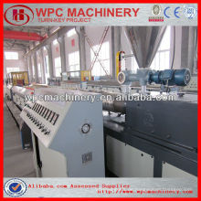Wpc decking produktionsmaschine wpc maschine