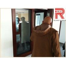 Profilé en aluminium et profilé en alliage d'aluminium pour le mur-rideau pour portes à fenêtre (RAL-593)