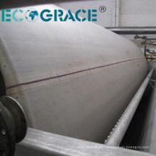 Tela de la prensa de la filtración del material del poliéster del dióxido de titanio