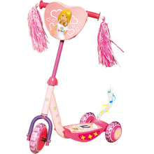 Kids Plastic Scooter with CE Approvals (YVC-009-1)