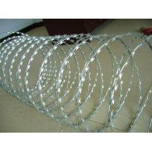 Galvanized Security Razor Barbed Wire