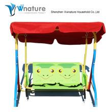 Садовые детские качели стулья с металлическим каркасом