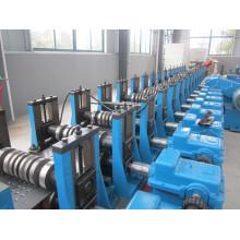 Hohe Geschwindigkeit vollautomatische 11kw Entstaubung Anode Platte Roll Formmaschine