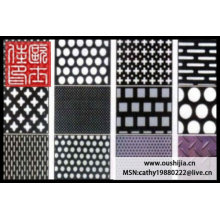SS, Aluminum, perforated wire mesh(manufacturer)