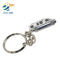 Machen Sie Ihre eigenen Logo Metall 3D Schlüsselanhänger Teile runden Souvenir Geschenk einzigartigen Design Schlüsselbund