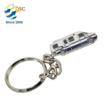 Chaveiro feito sob encomenda de venda quente do metal da porta-chaves do metal do projeto novo para o presente