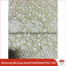 Fios Shinning Guipure Lace com Pedras 3054