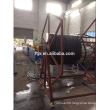 Large Diameter Steel Reinforced Spiral Winding Pipe Production Line/HDPE Steel Reinforced Spiral Pipe Machine/plastic machine