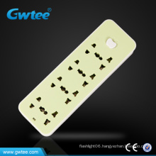 4 gang power electric plug and socket with apple switch