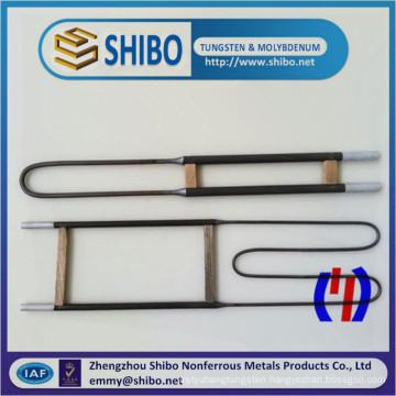U Type Mosi2 Heating Element, 3/6, 6/12mm Diameter Mosi2 Heating Element