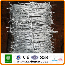 New barbed wire roll price fence, plastic barb wire