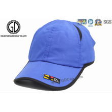 Classic100% Polyester Microfiber Mesh Outdoor Golf Sport Cap with Embroidery