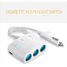 LY-0612 (108) Trending produtos quentes 3 welly e 2 carregador de cigarro de carro tomada USB (CE habilitado)