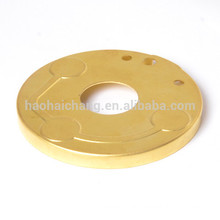 OEM high precision brass blank flange blind flange