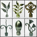 high quality and promoting decorative curtain finials